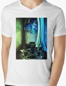 The Witches Room Mens V-Neck T-Shirt