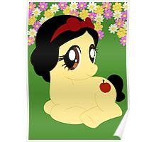 Pony Snow White Poster