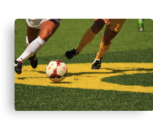 Plays on the Ball Canvas Print