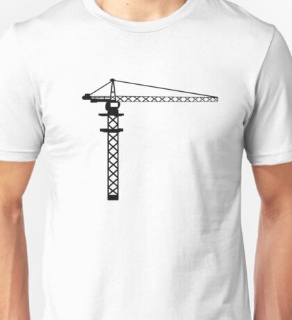 Construction Crane Unisex T-Shirt