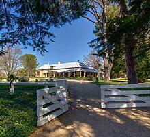 Lanyon Homestead Canberra Australia  by Kym Bradley