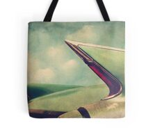 Cadillac Coupe DeVille Fintails Tote Bag