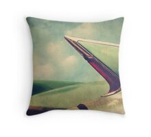Cadillac Coupe DeVille Fintails Throw Pillow