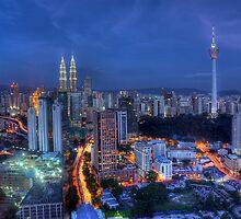 Kuala Lumpur by hafizismail