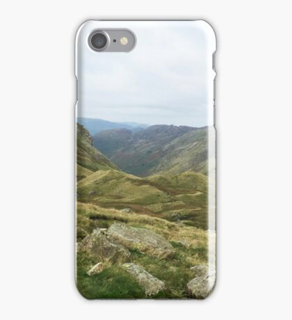 Greenup Edge, Lake District, UK iPhone Case/Skin