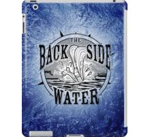 Back Side of Water (Black) iPad Case/Skin