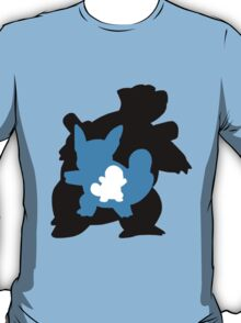 Squirtle - Wartortle - Blastoise Evolution T-Shirt