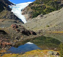 Glaciers and tarns by zumi