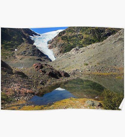 Glaciers and tarns Poster