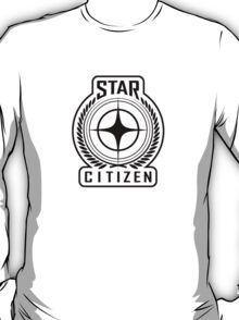 Star Citizen - BLACK T-Shirt