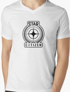 Star Citizen - BLACK Mens V-Neck T-Shirt