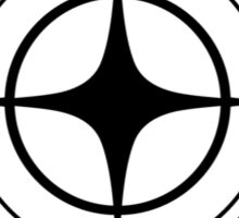 Star Citizen - BLACK Sticker