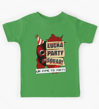 Lucha Party Squad! Kids Tee