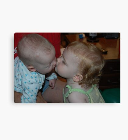 Kissin' Cousins..... Canvas Print