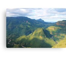 Blyde River Canyon, South Africa Canvas Print