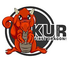 Kur! The First Red Dragon by eaRaccoon