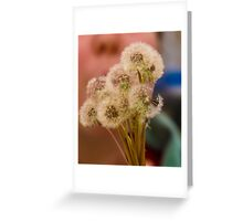 Dandelion Puffs Greeting Card
