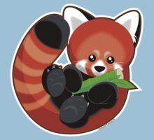 Cute Red Panda by kimchikawaii