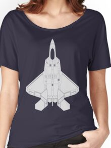 Lockheed Martin F-22 Raptor Women's Relaxed Fit T-Shirt