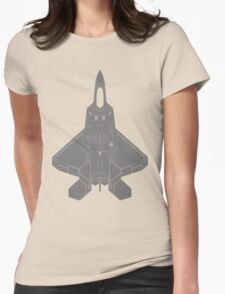 Lockheed Martin F-22 Raptor Womens Fitted T-Shirt