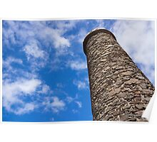 stone chimney Poster