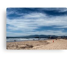 Love This Sky It Was So Peaceful At The Beach Today Canvas Print