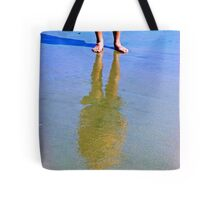 Reflection In The Sand 2 Tote Bag