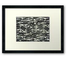 KA Camouflage 2 Framed Print