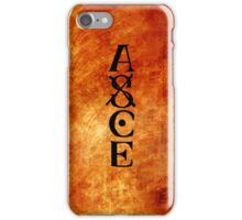 Fire Fist Ace iPhone Case/Skin