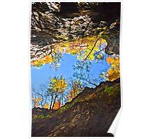 Top of Ridge in Autumn  Poster