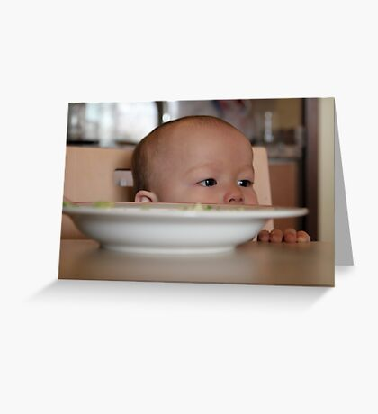 Dinner Time Greeting Card