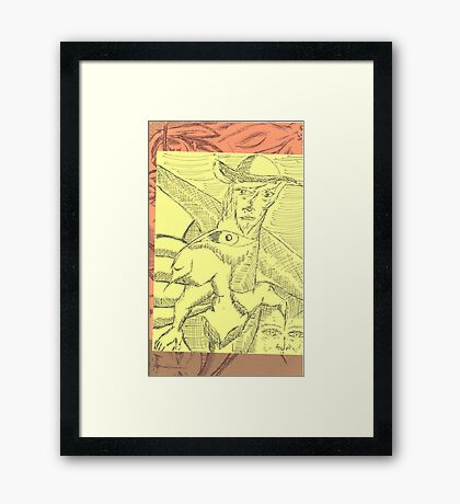 cowboy Framed Print
