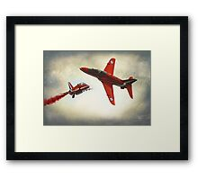 """Red Arrows"" Framed Print"