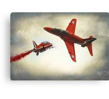 """Red Arrows"" Canvas Print"