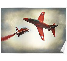 """Red Arrows"" Poster"