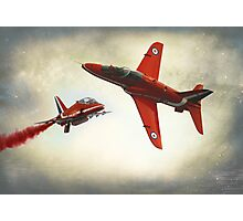 """Red Arrows"" Photographic Print"