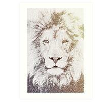 The Intellectual Lion Art Print