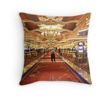 How the other half live. Throw Pillow