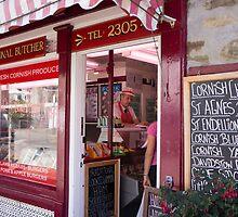 butcher shop by Anne Scantlebury