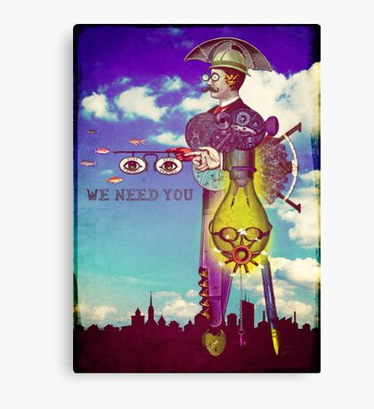 We need YOU! Canvas Print