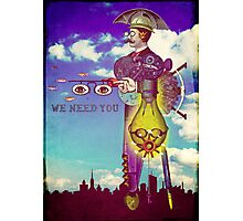 We need YOU! Photographic Print