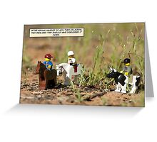 Riding day Greeting Card