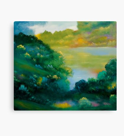 September Woods Canvas Print