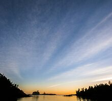 BeachDusk0, British Columbia landscape by MatericLook
