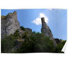 Devin Castle, Slovakia Poster