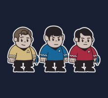 Mitesized Trekkies by Nemons