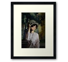 Looking into the distance Framed Print