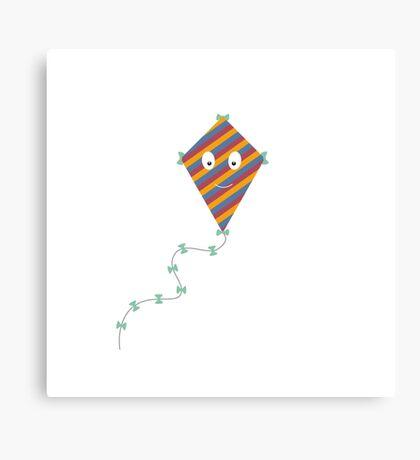 Colourful kite Canvas Print