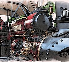 Traction Engine - 2 by Paul Stevens