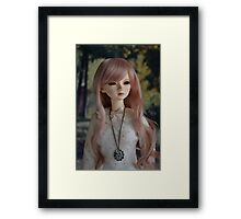 Glancing in your direction Framed Print